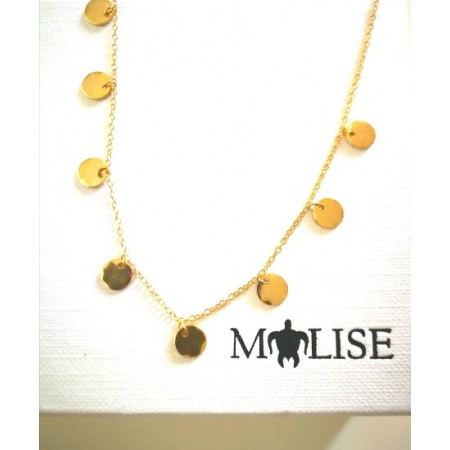 collar medallas oro